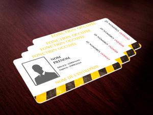 impression de badge pro, carte cadeau à imprimer et carte de fidélité avec numérotation progressive