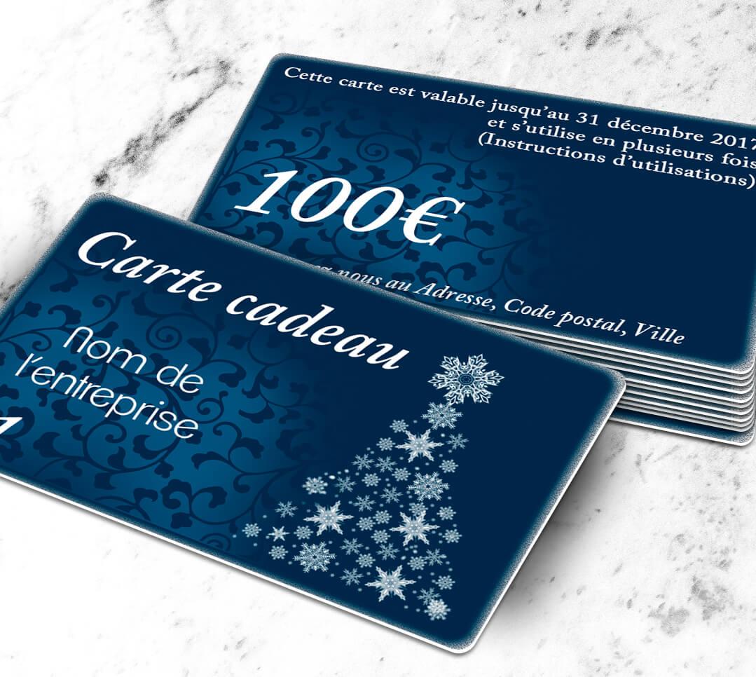 cr er une carte cadeau plastique argent stellaargentum bleue cardzprinter fabrication et. Black Bedroom Furniture Sets. Home Design Ideas