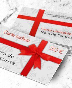 Créer Carte Cadeau Et Voeux Sur Carte Plastique à Lunité