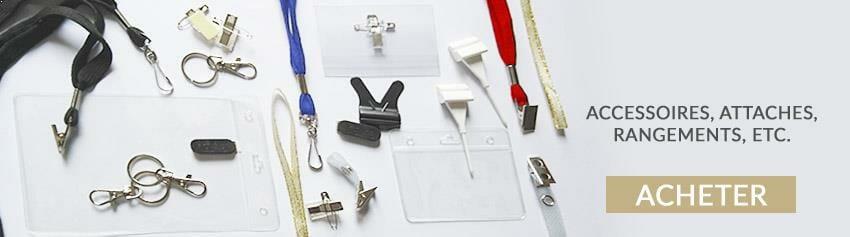 Acheter accessoires carte plastique et accessoires porte badge professionnel commercialisé sur cardzprinter