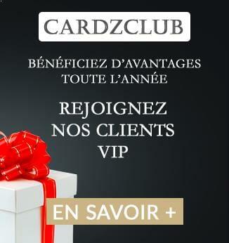 Cardzclub abonnement client vip cardzprinter