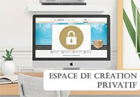 Espace de création privatif cardzprinter