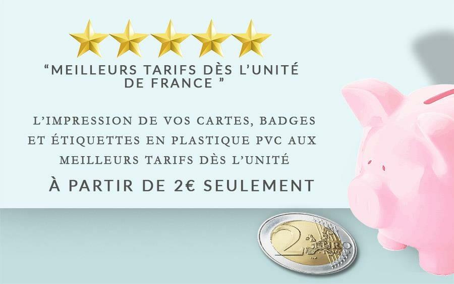 Impression Carte Badge Plastique A Lunite Cardzprinter