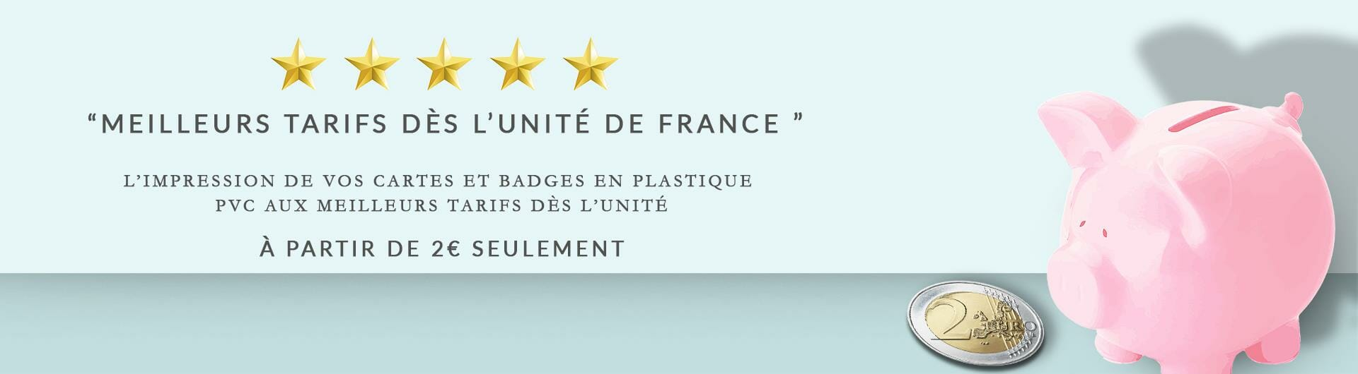 Impression carte badge plastique à l'unité cardzprinter