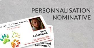 Impression carte plastique personnalisation nominative cardzprinter