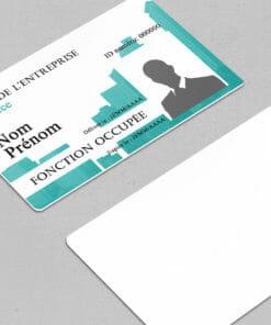 impression-carte-pvc-badge-à-personnaliser-bleu-avec-photo