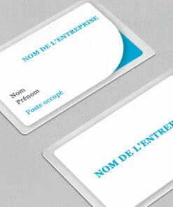 carte badge personnalisé à créer en quelques clics directement en ligne dès maintenant