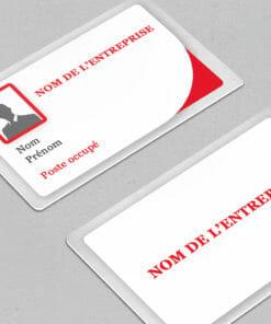 badges personnalisés directement en ligne et aujourd'hui chez l'imprimeur de carte pvc cardzprinter