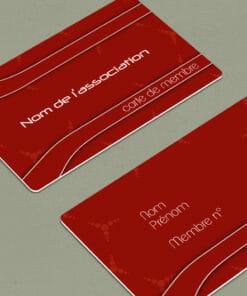 carte de menbre pour association, club, parti politique et et tout organisme nécessitant une carte d'adhérent