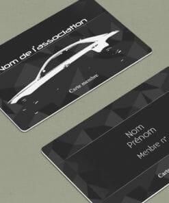 impression-association-de-carte-modèle-automobile-gris-foncé