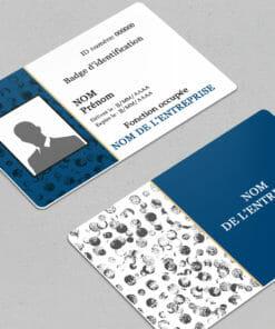 personnalisez vous-même sur notre site en ligne votre badge epingle grâce à nos nombreux modèles carte plastique