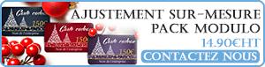 Service de personnalisation de carte plastique et badge PVC à partir de 14.90€HT avec le pack graphique Modulo.