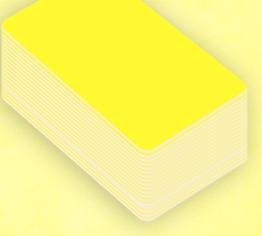 Prendez le badge de couleur qui vous convient, ici ils sont avec du jaune