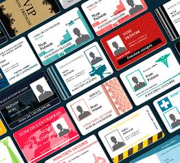 modèle de badge multisectoriel à personnaliser directement en ligne