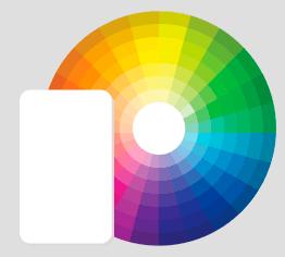La création de votre badge peut se faire en sélectionnant par couleur dans notre catalogue