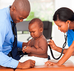 Badge pédiatrie