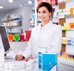 Badge Préparateur / Préparatrice en pharmacie