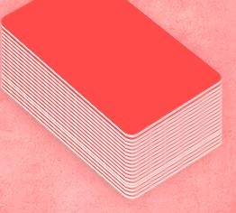 Création badge de couleur rouge à personnaliser de manière nominative aujourd'hui