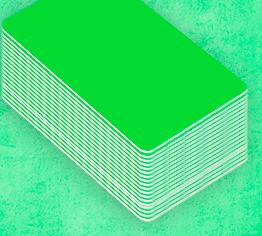 Création de badge en 5min de couleur verte