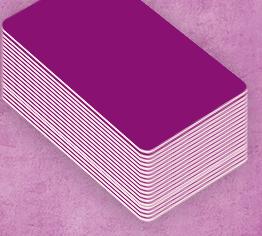 Facilitez la création de vos badges avec nos modèles personnalisables de couleur violette