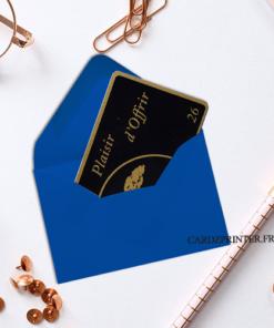 nombreuse couleurs d'enveloppe carte cadeau à acheter dès l'unité sur Cardzprinter