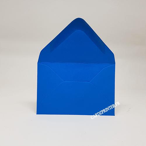 emballage forme enveloppe pour carte format 86x54mm en plastique PVC