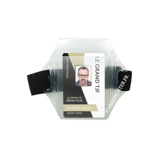porte badge brassard idéal carte badge professionnel