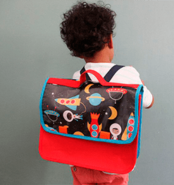 Étiquette bagage, sac et cartable enfant