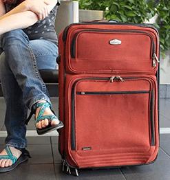 Étiquette bagage et valise personnalisée